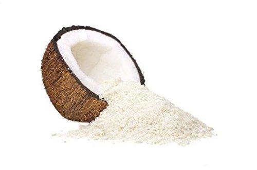 YUMI BIO - Pulpe de Noix de Coco Exfoliante - 100% Naturel - Parfait pour Exfolier la Peau - Parfum Doux et Exotique - 100 gr