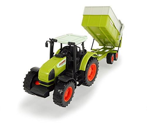 Dickie - Tractor con remolque claas, 57 cm (3739000)