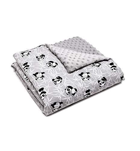 Panda Passt - Babydecke, Fleecedecke, Kuscheldecke, Krabbeldecke, fur Baby