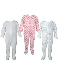 Teddy's Choice 100% Cotton Multi color 3 Combo Kid's Romper :Modle-07