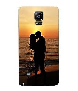 Fuson Designer Back Case Cover for Samsung Galaxy Note Edge :: Samsung Galaxy Note Edge N915Fy N915A N915T N915K/N915L/N915S N915G N915D (Love Pyaar Heart Couple Together Saat Saat)
