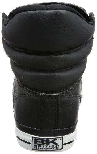British Knights ATOLL B29-3740, Sneaker uomo Nero (Schwarz (blk/wht 02))