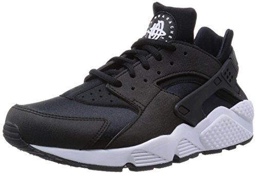 Nike Damen Air Huarache Run Sneaker, Schwarz (Black/Black-White), 43 EU