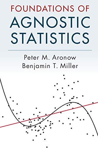 Foundations of Agnostic Statistics por Peter M. Aronow