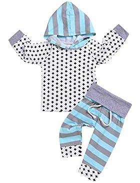K-youth Ropa Bebe Niño Otoño, Conjunto de Ropa para bebé niños Estampado de Cruz Ropa Bebe Recien Nacido Niño...
