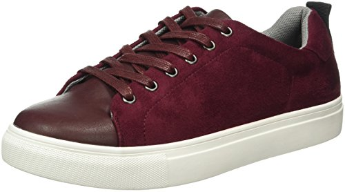 Another-Pair-of-Shoes-TaliaE2-Scarpe-da-Ginnastica-Basse-Donna-Rosso-Wine36-37-EU