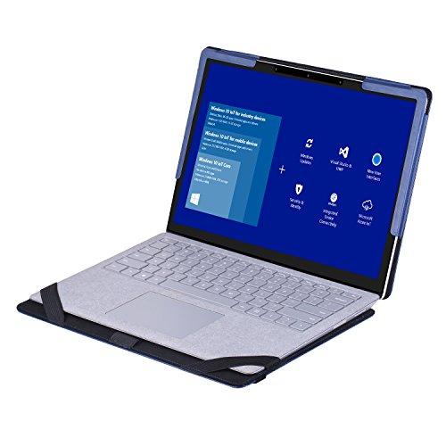 VOVIPO Surface Book 13.5 Zoll Laptop Hülle,PU Leder Tasche Hülle Notebook Filz Case Schutzhülle für Microsoft Surface Laptop 13.5 Zoll …