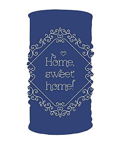 Headband Blue Sweet Home Headwear Sport Sweatband Yoga Head Wrap for Men Women