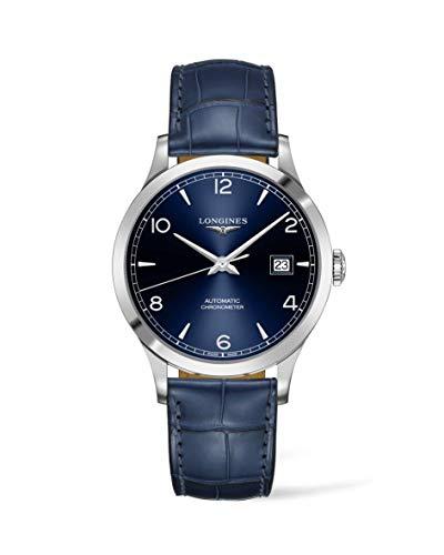 Longines Record Blue Leather L2.821.4.96.4 extensión de la garantía