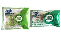 Ecosys Refill Pack of 2: Floor Cleaner & All-Purpose Cleaner water soluble capsule each-1Litre