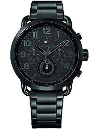 Tommy Hilfiger Reloj Multiesfera para Hombre de Cuarzo con Correa en Acero Inoxidable 1791423