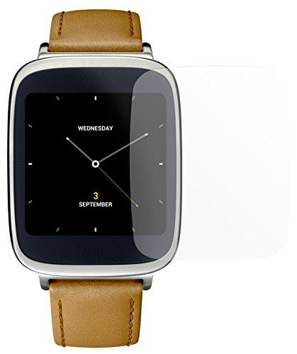dipos I 2X Schutzfolie matt passend für Asus ZenWatch Folie Bildschirmschutzfolie