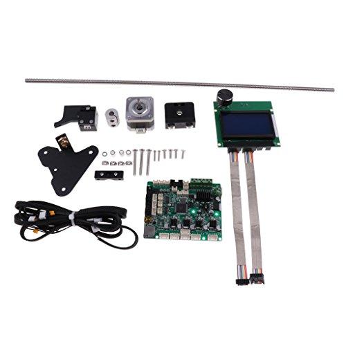 SM SunniMix Kit De Actualización De Impresora 3D CR-10S Kit De Actualización Dual Z Tornillo De Cabeza con Filamento