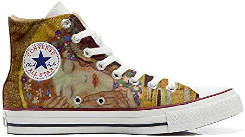 Converse All Star Personalisierte Schuhe (Custom Produkt) Küssen Klim