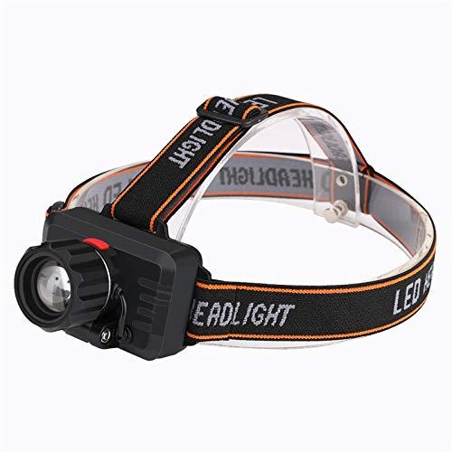 Stirnlampe 20000 Lumen Stirnlampe T6 USB wiederaufladbar integrierte Batterie Stirnlampe Kopflampe 3 Modi Beleuchtung Taschenlampe