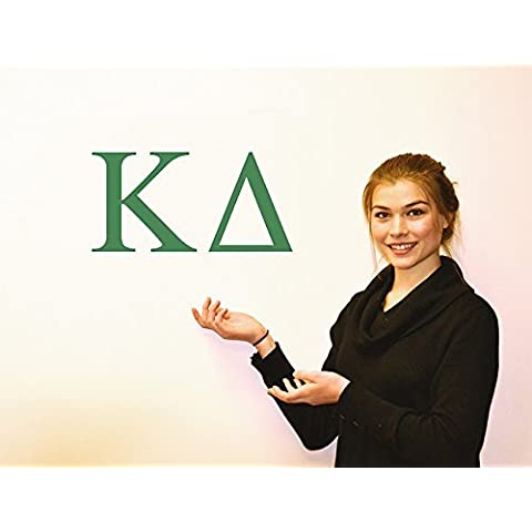 Kappa Delta Jumbo Letter Decals by Sorority Shop