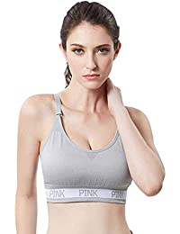 Amazon.it  Grigio - Reggiseni sportivi   Intimo sportivo  Abbigliamento 2e42aa5d361