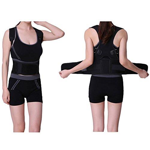Geradehalter Zur Haltungskorrektur Für Damen Und Herren Therapie Für Haltungsbedingte Nacken, Rücken Und Schulterschmerzen Schwarz S M L XL XL