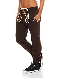 Hoppe Gennadi Damen Sporthose Pant im Trachtenlook