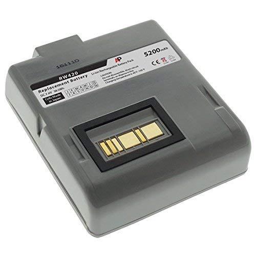 Zebra/Comtec RW420 Barcode-Drucker: Ersatzakku 5200mAh -