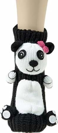 Capelli New York 3D Haussocken 'Panda', Groesse:39-42;Farbe:black combo