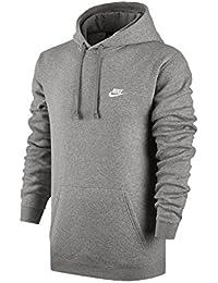 60be1393121c8 Nike Hoodie NSW Po FLC Club Größe  L Farbe  Dark Grey Heather