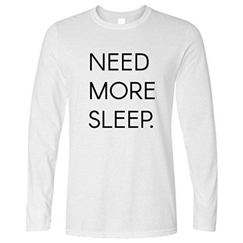 Tim And Ted Benötigen Sie Mehr Schlaf Müde Sleepy Gähnen Naps Lustiger Slogan Asleep Langarmshirt