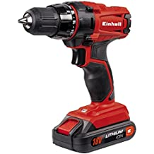 Einhell 4513846 Taladro sin Cable TC-CD 18-2 litio 18 V, Rojo