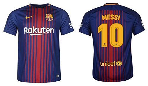 F.C. Barcelona Trikot Herren 2017-2018 Home - Messi 10 (L)