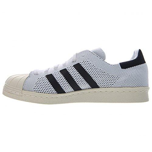 Adidas Superstar 80s Primeknit - WeiÃ? / Schwarz-off WeiÃ?, 7.5 D Us White / Black-Off White