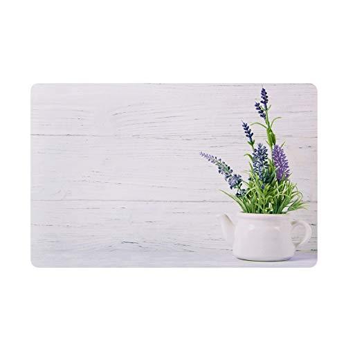 Tischsets Platzsets mit Motiv Lavendel im 4er-Set, 43x28 cm, abwischbar