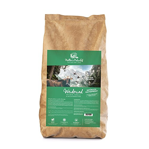 Müllers Naturhof | Weiderind | 5 kg | Ente + Forelle +...