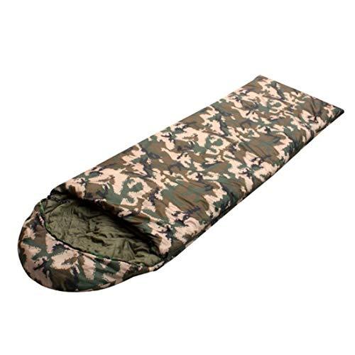 Junfelicia sacco a pelo per busta per adulti per campeggio con sacco a compressione (color : camouflage)