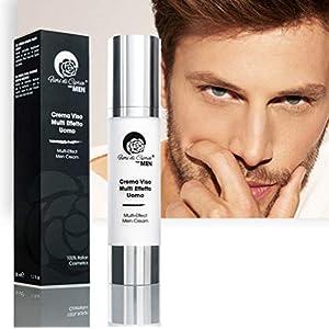 Crema Anti-Arrugas Para Hombre – Ácido Hialurónico Y Células Madre Previenen La Pérdida De La Firmeza De La Piel Y La…