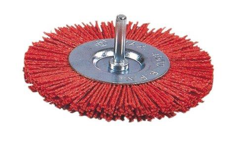 Ratio 6652h75 – Brosse circulaire nylon rouge 75 mm Rat