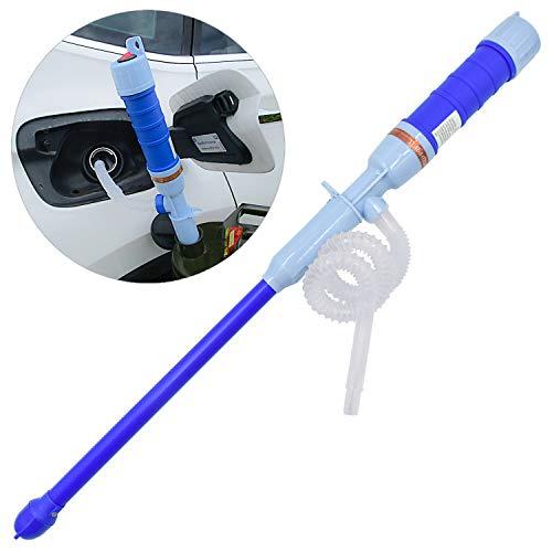 WEKON Pompa Multifunzionale a Batteria, Portatile, elettrica, in plastica, Pompa Manuale a Ventosa per disegnare Olio, Acqua, liquidi, ECC, PP