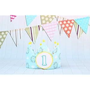 Stoff krone für den ersten Geburtstag von Babys und Kindern