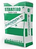 STAR.ZERO - STAR FINITHERM - Intonaco speciale collante e rasante, per ripristini in rasatura armata, per incollaggio rasatura isolamenti a cappotto. Rispetta l'ambiente (5Kg grigio dolomiti)