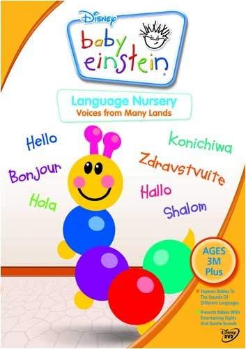 Baby Einstein: Language Nursery [Reino Unido] [DVD]