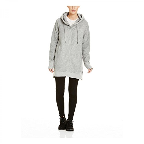 Bench Damen Dais Fleecejacke, Mid Grey Marl, M