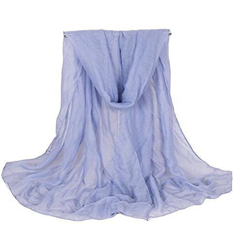 Rnow - Echarpe - Solid - Femme - violet - Large