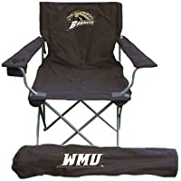 NCAA Western Michigan Broncos silla plegable con bolsa