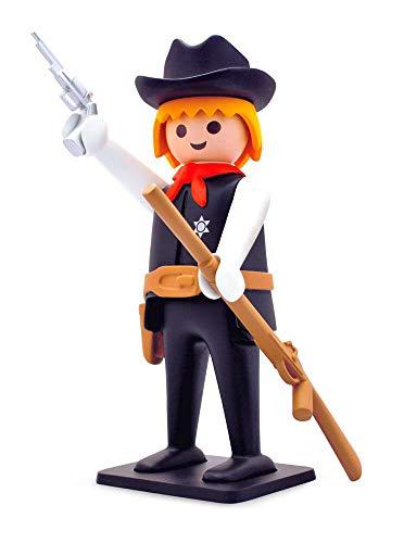 Plastoy - Playmobil Nostalgia colección: Sheriff - Figura [25 cm]