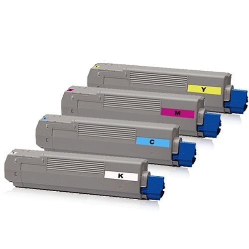 kompatibler XXL Toner Set für Oki C5600 C5600N C5600DN C5700 C5700N C5700DN C 5600 C 5600 N C5600 DN C 5700 C 5700 N C 5700 DN Schwarz Cyan Magenta Yellow (Reman Drucken)