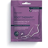 beautypro Foot Terapia Colágeno Con Botines con extraíble para dedo del pie punta