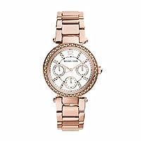 Michael Kors MK5616 - Reloj de cuarzo con correa de acero inoxidable para mujer, color rosa de Michael Kors