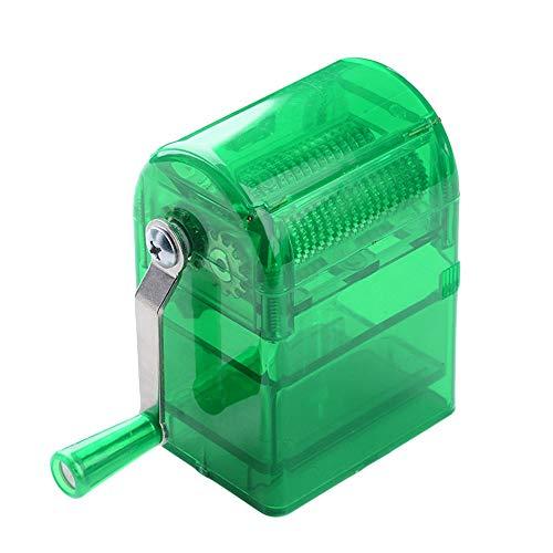 Yogasada Molinillos de cigarro de manivela Uso Duradero Trituradora de Especias de Hierbas de Tabaco Verde