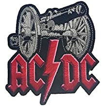Parches - AC DC - ACDC - with cannon - MusicParches - Rock - Chaleco -