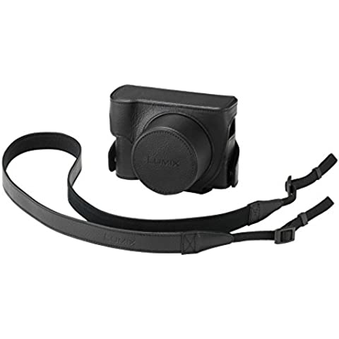 Panasonic DMW-CLX100EK - Funda para cámara DMC-LX100, negro