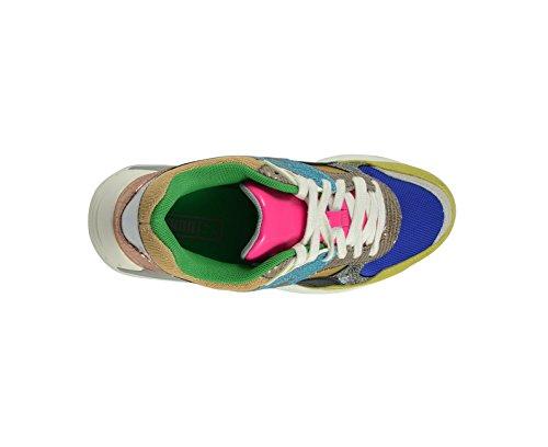 Puma , Baskets pour femme Bleu blue/green sheen/whisper white blue/green sheen/whisper white